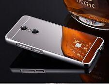 Metal Aluminum Frame Bumper Case+PC Mirror Slim Back Cover For Xiaomi Redmi