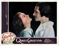 MOVIE PHOTO Queen Christina Lobby Card Greta Garbo John Gilbert 1933