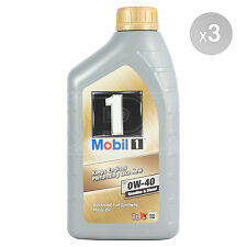 Mobil 1 FS 0W-40 Fully Synthetic Engine Oil 0W40 Mobil1 3 x 1 Litre 3L