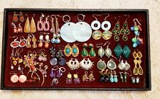 36 Piece Mixed Colorful Mixed Style Pierced Earring Lot
