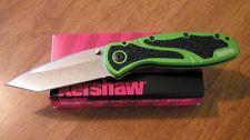 KERSHAW New Ken Onion Design Green Blur Plain Edge BDZ1 Tanto Blade Knife/Knives