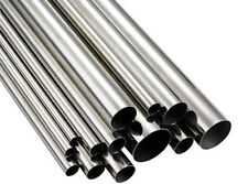 316 STAINLESS STEEL TUBE 24mm OD x 500mm LONG 1.0mm W Thick Mirror Finish x 2pcs