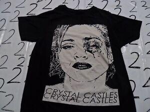 Medium Crystal Castles Madonna Bruised Eye Shirt