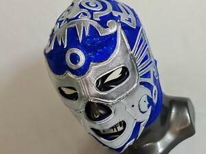 BLUE MASK WRESTLING MASK LUCHADOR WRESTLER MASDK LUCHA LIBRE MEXICAN MASK
