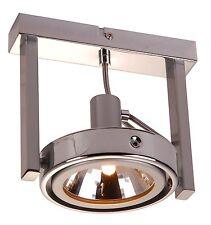 Globo Kuriana 5645-1 Deckenlampe Chrom Deckenleuchte Deckenstrahler Spotlampe G9