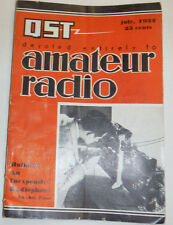 QST Magazine Amateur Radio Building An Inexpensive Radiophone July 1932 122314R