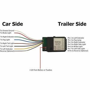 Trailer Caravan LED Light Fix Bypass Relay Towing Electrics Socket