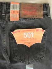 Levi's Men's New 501 2495 32x34 Gray Original Fit Jeans Straight Leg Button Fly
