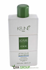 Keune So pure after color shampoo 1000 ml. Free shipping Worldwide