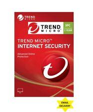 Trend Micro Internet Security 2020 Version (3 Windows PC - 1 Year)