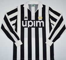 1989-1990 JUVENTUS KAPPA HOME FOOTBALL SHIRT (SIZE M)