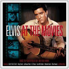 Elvis Presley - At The Movies (180g 2LP Gatefold Red Vinyl) NEW/SEALED