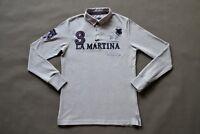 LA MARTINA Men's Polo Rugby Langarm Shirt Longsleeve Herren Sweatershirt Gr. M