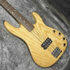 ESP AP Natural Electric Bass Guitar 1 Pickup Maple Body Natural Wood Finish for sale