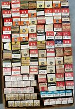 Qty 115+ Vintage Radio TV Tubes Mostly NOS USED