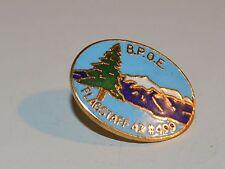 Tie Tack Lapel Pin Brooch GoldTone Metal Flagstaff Az #499 B.P.O.E