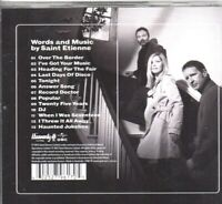 Saint Etienne-Words And Music CD -Brand New