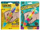 Set of 2 Interactive Moveable Pens Fidget Stress Relief Focus Attention