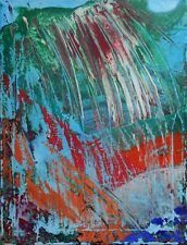 Contemporary Acrylic Abstract Painting Original Canvas Art Modern Artwork Signed
