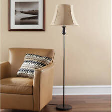 Bedroom Floor Lamp Tall Base Shade Bronze Modern Antique Style Home Decor