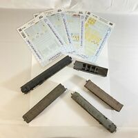 Bachmann SCL Train Bundle Family Lines 8104 Carriages Lumber Freight Etc As/Is