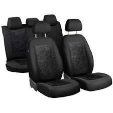 Black Velour Seat Covers Lada 111 Car Seat Cover Set