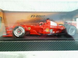 Hot Wheels F1-2000 racing Michael Schumacher 1:18 26737 - Rare