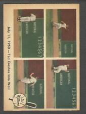1959 Fleer #40 Ted Crashes Into Wall