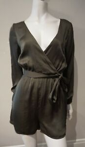 KOOKAI Pearl Playsuit with Long Sleeves - Size 36 (Aus 8)