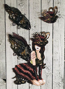 Tattered Lace Lady Delia Lightly Die Cuts