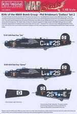 Kits World Decals 1/48 CONSOLIDATED B-24 LIBERATOR ZODIACS Libra & Capricorn