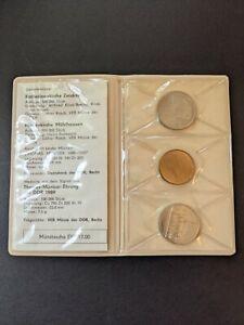 """GERMANY DDR Set of Ltd Edition Commemorative Coins """"Ehrung der DDR"""""""