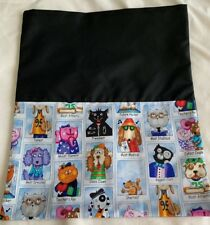 LIBRARY/TOY BAG - *EMBROIDERED FIRST NAME FREE!*