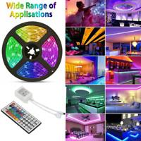 Tira De Luce LED 5M RGB 3528 16.4 FT Tiras Luz Para Decoracion Habitacion Cuart