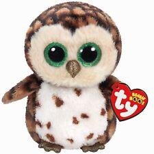 Ty Beanie Boos 37174 Sammy the Brown Owl Boo Regular