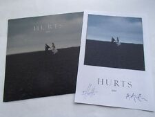 """HURTS - STAY - VERY RARE NO'D 7"""" & SIGNED ART PRINT"""