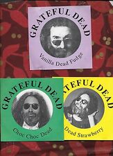 Grateful Dead Fruit Fest! Choc Choc Vanilla Dead Strawberry (3) Cd Super Rare