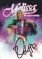 Melissa NASCHENWENG - österr. Musikerin, Original-Autogramm!