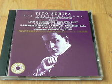 Tito Schipa - His First Records 1913-1919 - Puccini - Verdi - Gounod - 1994