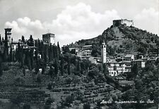 ASOLO * Panorama da Sud *  Viaggiata 1963