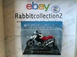 """DIE CAST  """" BMW R 1200 GS '30 YEARS GS """" BMW COLLECTION SCALA 1/24"""