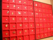 New~70pcs Mix Brand ~ Glass Watch crystal Lot ~Look Photo F Shape & size  #NC 12