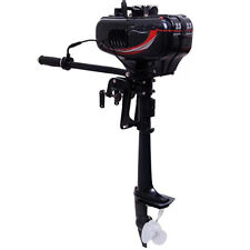 OUTBOARD Motor Boat Engine Heavy Duty 2 Stroke 3.5hp 2500w Water Cooling System
