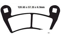 NEU EBC Bremsbeläge FA452TT Standard f. Polaris Ranger 800 XP EPS H.O. Bj. 11-12