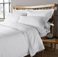 Christy Vintage Washed 100% Linen White Single Duvet Cover Only RRP£100