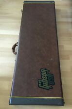 Vintage 80's 90's Gibson Explorer Braun Koffer Brown Case