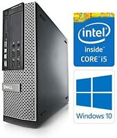Fast Cheap Dell PC Intel i5 Quad Core CPU up to 16GB Ram HDD Windows 10 Pro WIFI