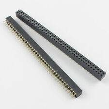 100Pcs 2mm 2x16 Pin 32 Pin Female Double Row Straight Pin Header Strip