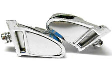 2320003 RC 1/10 Body Shell Cover Accessories Side Mirrors Set Chrome x 2