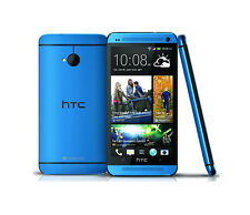 "4.7"" Unlocked HTC One M7 Android Cell Phone - 32GB 4.0MP Camera Quad-core - Blue"